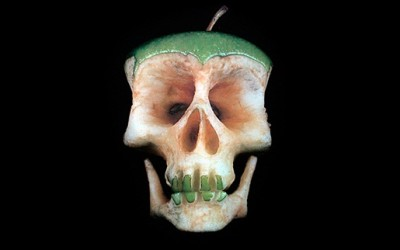 Fruit and Vegetable Skulls by Dimitri Tsykalov