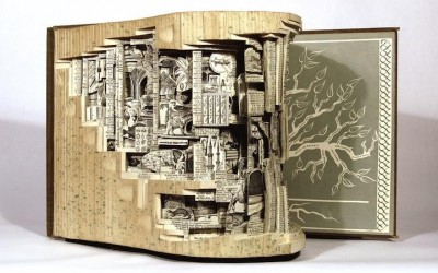 Book Sculptures by Brian Dettmer