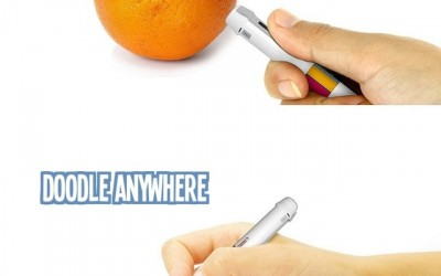 Scribble pen – draw using any color in the world